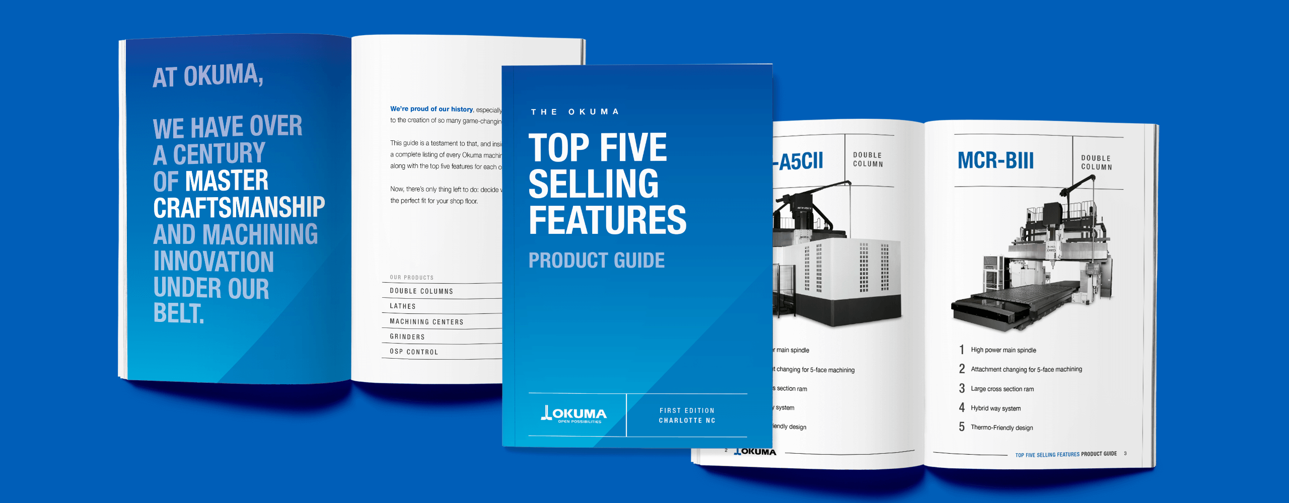 Okuma Top5 Brochures